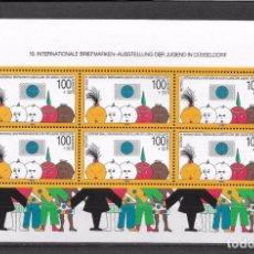 Francobolli: ALEMANIA 1990 HOJA BLOQUE ** MNH INFANTIL - 121. Lote 149403586