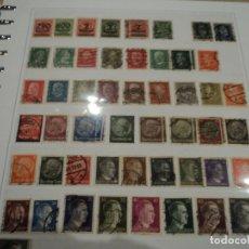 Briefmarken - 59 sellos antiguos matasellados del reino de alemania 1889 a 1944 hoja incluida - 149723130