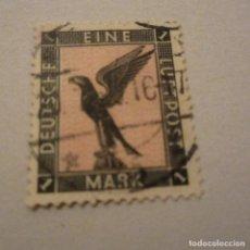 Sellos: ALEMANIA IMPERIO AEREO, 1926/27 YVERT Nº 32 MATASELLADO. Lote 150310986
