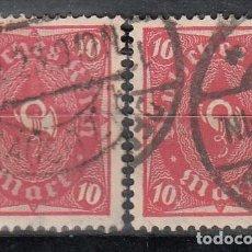 Sellos: ALEMANIA IMPERIO,1922 YVERT Nº 200, 211, LETRAS CON EL FONDO BLANCO, . Lote 150544742