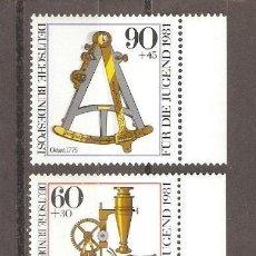 Sellos - ALEMANIA FEDERAL. 1981 YT 922/25 - 150670654