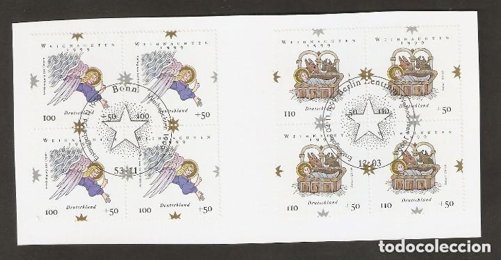 ALEMANIA FEDERAL.2000. Y & T. Nº 1917/1918 X 4 (Sellos - Extranjero - Europa - Alemania)