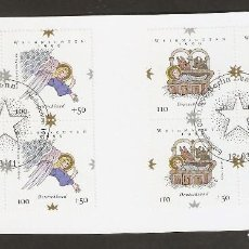 Sellos: ALEMANIA FEDERAL.2000. Y & T. Nº 1917/1918 X 4. Lote 150670758