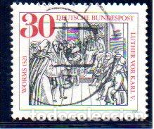 ALEMANIA.- SELLO DEL AÑO 1971, EN USADO (Sellos - Extranjero - Europa - Alemania)