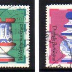 Francobolli: ALEMANIA.- SELLOS DEL AÑO 1972, EN USADOS. Lote 150995358