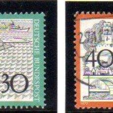 Francobolli: ALEMANIA.- SELLOS DEL AÑO 1972, EN USADOS. Lote 150995466