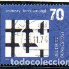 Francobolli: ALEMANIA.- SELLO DEL AÑO 1974, EN USADO. Lote 151005694