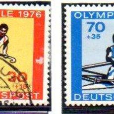 Francobolli: ALEMANIA.- SELLOS DEL AÑO 1976, EN USADOS. Lote 151009518