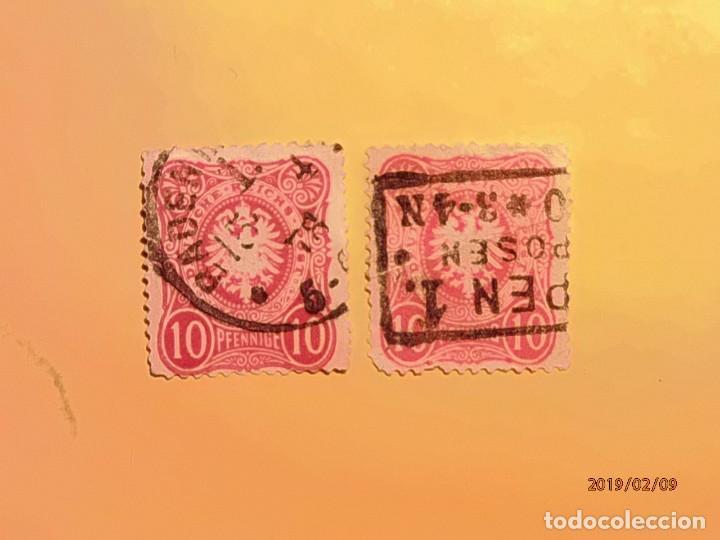 ALEMANIA 1871-1949 - DEUTSCHE REICH - ÁGUILA HERÁLDICA. (Sellos - Extranjero - Europa - Alemania)