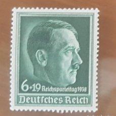 Sellos: SELLO DE ALEMANIA. DEUTSCHES REICH. 1938. NUEVO CON GOMA.. Lote 151439430