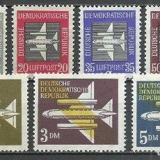 Sellos: ALEMANIA DDR - 1957 - MICHEL 609/615** MNH. Lote 151491042