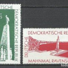 Sellos: ALEMANIA DDR - 1957 - MICHEL 566/567** MNH. Lote 151493710