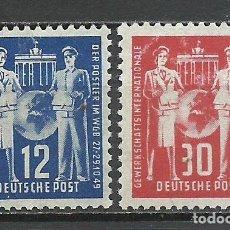 Sellos: ALEMANIA DDR - 1949 - MICHEL 243/244** MNH. Lote 151607366
