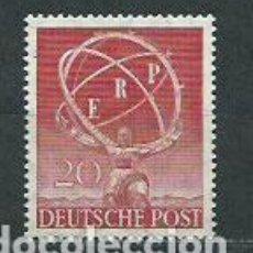 Sellos: ALEMANIA BERLIN CORREO 1950 YVERT 57 * MH. Lote 151930061
