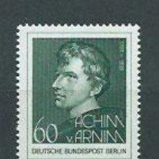 Sellos: ALEMANIA BERLIN CORREO 1981 YVERT 598 ** MNH PERSONAJE. Lote 151931753