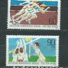 Sellos: ALEMANIA BERLIN CORREO 1982 YVERT 625/6 ** MNH DEPORTES. Lote 151931805