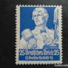 Sellos: ALEMANIA IMPERIO TERCER REICH 1934, YVERT 520*, MICHEL 563* MH CHARNELA. Lote 152390894