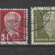 Sellos: ALEMANIA DDR 1952-53 USADO SC 113-117 (5) 20.00 - 2/31. Lote 152526230