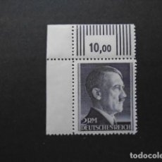 Timbres: ALEMANIA IMPERIO TERCER REICH 1941-43 YVERT 724A** MICHEL 800B** MNH , SIN CHARNELA. Lote 153048346