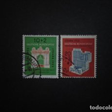 Sellos: ALEMANIA FEDERAL BRD , 1953, YVERT 57-58, MICHEL 171-172. Lote 153930514