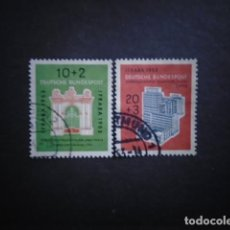 Sellos: ALEMANIA FEDERAL BRD , 1953, YVERT 57-58, MICHEL 171-172. Lote 153930658