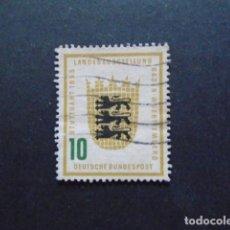 Sellos: ALEMANIA FEDERAL BRD , 1955, YVERT 90, MICHEL 213. Lote 154148066