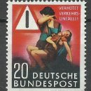 Sellos: ALEMANIA FEDERAL - 1953 - MICHEL 162** MNH. Lote 154212430