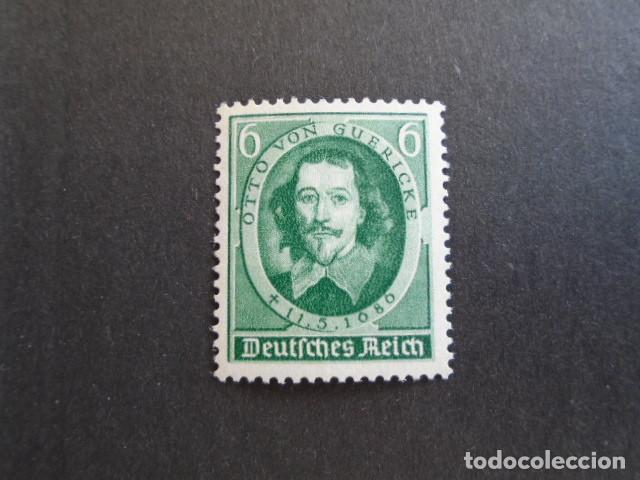 ALEMANIA IMPERIO , TERCER REICH, 1936, YVERT 564** MICHEL 608** MNH, SIN CHARNELA (Sellos - Extranjero - Europa - Alemania)