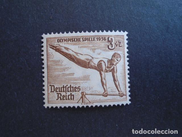 ALEMANIA IMPERIO , TERCER REICH, 1936, YVERT 565** MICHEL 609** MNH, SIN CHARNELA (Sellos - Extranjero - Europa - Alemania)
