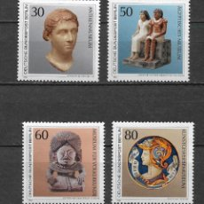 Francobolli: ALEMANIA BERLIN 1984 ** NUEVO SC 9N488-9N491 (4) 5.90 ARTE - 2/54. Lote 154373050