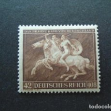 Sellos: ALEMANIA IMPERIO , TERCER REICH 1941 YVERT 704* MICHEL 780*, MH, CHARNELA. Lote 154400930