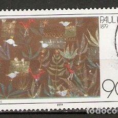 Francobolli: ALEMANIA FEDERAL.1979. YT 879. Lote 154762238