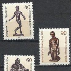 Sellos: ALEMANIA(BERLÍN OCCIDENTAL) YT. 617/19 MNH. ESCULTURAS AÑO 1981. Lote 155150621