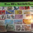 Sellos: 75 SELLOS BERLIN ESTE, BLISTER. Lote 155166558