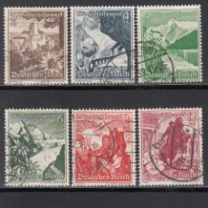 Timbres: ALEMANIA IMPERIO, 1938 YVERT Nº 616 / 624 . Lote 155412826