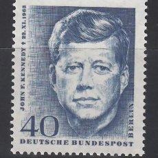 Sellos: BERLIN, 1964 YVERT Nº 218 /**/. Lote 155995934