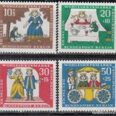 Sellos: BERLIN, 1966 YVERT Nº 262 / 265 /**/ . Lote 155996978
