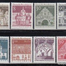 Sellos: BERLIN, 1966 YVERT Nº 246 / 252, 266 /**/ . Lote 155997238