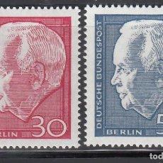 Sellos: BERLIN, 1967 YVERT Nº 289 / 290 /**/ . Lote 155999766