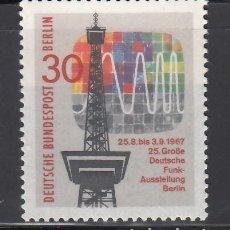 Sellos: BERLIN, 1967 YVERT Nº 284 /**/ . Lote 155999826