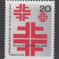 Sellos: BERLIN, 1968 YVERT Nº 296 /**/ . Lote 156000218