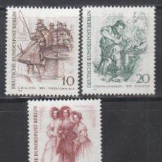 Sellos: BERLIN, 1969 YVERT Nº 324 / 326 /**/ . Lote 156000890