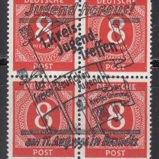 Sellos: ALEMANIA LOCALES, BRANDIS . 1946 MICHEL Nº 6 P /**/. Lote 156557534