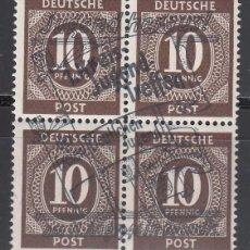 Sellos: ALEMANIA LOCALES, BRANDIS . 1946 MICHEL Nº 10 P /**/. Lote 156557566