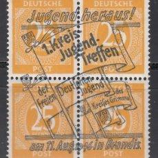 Sellos: ALEMANIA LOCALES, BRANDIS . 1946 MICHEL Nº 14 P /**/. Lote 156557626