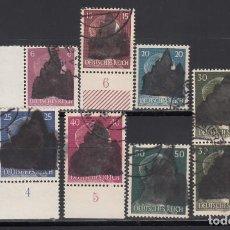Sellos: ALEMANIA LOCALES, SCHWARZENBERG. 1945 LOTE DE SELLOS,. Lote 156559418