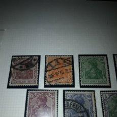 Sellos: 13 SELLOS IMPERIO ALEMÁN AÑO 1920. Lote 156942690