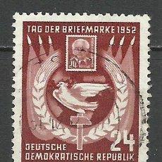 Sellos: ALEMANIA DDR - 1952 - MICHEL 319 - USADO. Lote 156958942