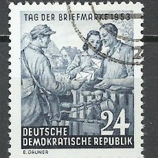 Sellos: ALEMANIA DDR - 1953 - MICHEL 396 - USADO. Lote 156960014