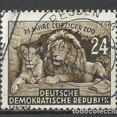 Sellos: ALEMANIA DDR - 1953 - MICHEL 397 - USADO. Lote 156960030